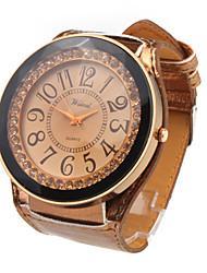 PU Leather Band LED Fashion Wrist Watch