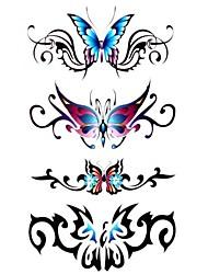Tatuaggi adesivi Serie animali Fantasia Waterproof Da donna Girl Teen Tatuaggio temporaneo Tatuaggi temporanei