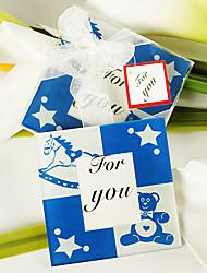 Party Favors & Gifts # Bases para Copos Chá de Bebê Tema Conto de Fadas Não-Personalizado Vidro Azul