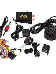 Real-Time Car GPS Tracker (GSM, Camera, Remote Control)
