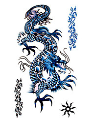 5 Pcs Dragon Waterproof Temporary Tattoo(17.5cm*10cm)