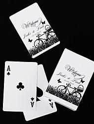 personnalisés cartes à jouer - vélo et le papillon