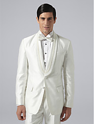 Custom Made Single Breasted Two-button Shawl Lapel Groom Tuxedo