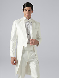 Custom Made Double Breasted Two-button Notch Lapel Groom Tuxedo