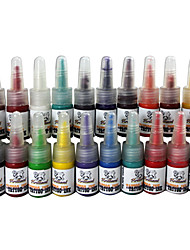 20 encres de tatouage couleur tatouage set 20 * 5 ml