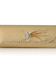 Faux Leather With Glitter Evening Handbags/ Clutches More Colors Available