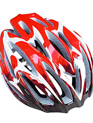 New Design MTB And Road Helmet With Blaze Stripe Surface