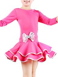 Vêtements en polyester avec une robe pratique, l'arc latin pour les enfants