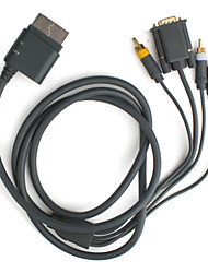 HD VGA AV Cable for Xbox 360