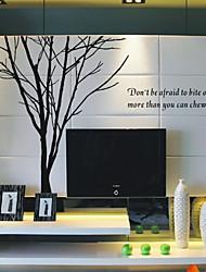 Настенные наклейки с узором в виде дерева