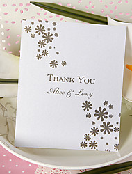 Thank You Card - Cute Floret (Set of 50)