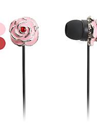 stile del fiore in-ear auricolari per iphone 6/6 più (colori assortiti)