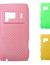 сетка чистая покрытие кожи случае для Nokia N8