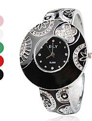 Alloy Band Quartz Bracelet Watch For Women Cool Watches Unique Watches