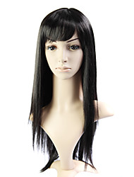 Capless Long 100% Imported Heat-resistant Fiber Straight Wig