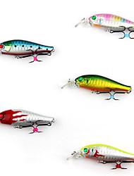 "1 Stück Harte Fischköder kleiner Fisch Angelköder Harte Fischköder kleiner Fisch Grün Rosa Gelb Blau Rot g/Unze mm/2-3/8"" Zoll,Fester"