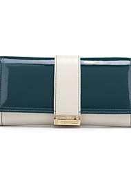 suave curvatura carteira de couro (mais cores) (19 centímetros 10 centímetros * 3,5 centímetros)