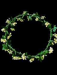 Women's/Flower Girl's Paper Headpiece - Wedding/Special Occasion Flowers