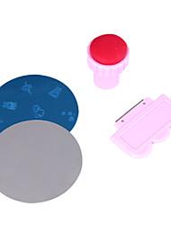 nail art doe het zelf printen printen in kleur stempel polish machine combinatie kit