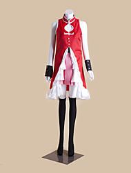 puella magos Kyoko sakura traje de cosplay