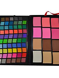 72 цветов профессиональных теней и пудры состав набора