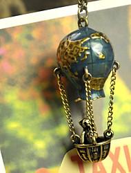 Bear Hot Air Balloon Necklace