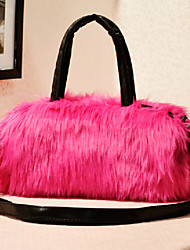Long Haired Faux Fur Shoulder Bag (More Colors)