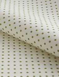 "Modern Polka Dots Polyester Print Fabric (Fabric Weight-Medium) - Width=110"" (280 cm)"