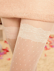 Princess Style Thinner-Looking Lace Full Body Pantyhose