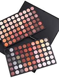 120 Paleta de Sombras de Ojos Mate / Brillo Paleta de sombra de ojos Polvo Grande Maquillaje Smokey / Maquillaje de Halloween