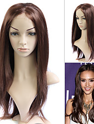 Full Lace (French Lace) 100% Human Remy Hair Jessica Alba's Hair Style Wig