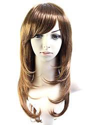 Capless Long 100% Heat Friendly Fiber Natural Hair Wig