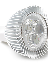 3W GU5.3(MR16) LED Spotlight MR16 3 High Power LED 270 lm Warm White / Cool White / Natural White DC 12 V