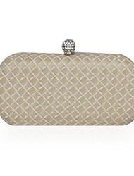 Faux Leather Hard Body Clutch/Evening Bag (More Colors)