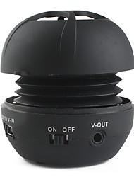 Mini Portable Sphere Speaker (MicroSD Reader, Assorted Colors)
