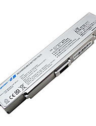 Akku für Sony VAIO VGN-AR VGN-CR VGN-NR VGP-BPS10 VGP-BPS9 VGP-BPS9A / b VGP-BPS9 / B VGP-BPS9 / S silber