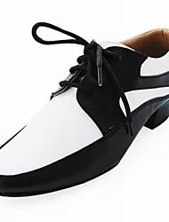 Leatherette Latin/Ballroom Dance Performance Shoes For Men(More Colors)