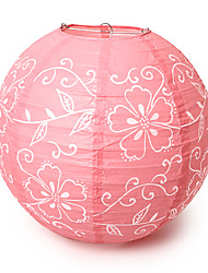 "Wedding Décor 14"" Floral Print Paper Lantern (More Colors)"