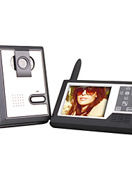 Wireless 3.5 Inch TFT Monitor Video Door Phone with Camera