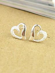 Heart Shape Scrub  Earrings