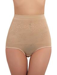 conformación braga alta de algodón de la cintura de la ropa interior atractiva shaper