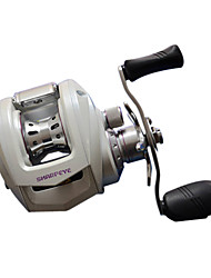 BG20LH White Handle Casting Reel with 9+1 Ball Bearings