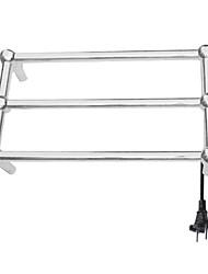 40W aus Edelstahl für Wandmontage Rundrohr Handtuch warmmer Wäscheständer