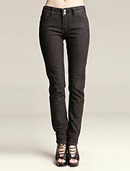 упругой Жан узкие брюки