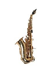 hanbang - (HB-8051) sax soprano con i fori di tono laminati (fino a f # acuto)
