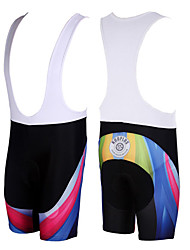 KOOPLUS® Cycling Bib Shorts Men's Bike Breathable / Quick Dry Bib Shorts / Shorts / Bottoms Polyester Patchwork Spring / Summer