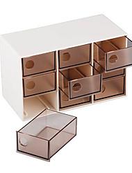 9-grille boîte de tiroir de rangement