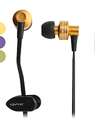 Awei Metallic Style In-Ear Earphones (Assorted Colors)