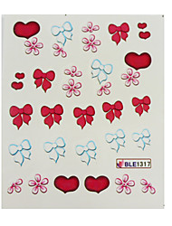 Watermark Nail Sticker,Tattoo Sticker,Nail Art Sticker(4PCS)