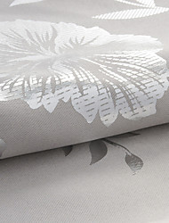 """Neoclassical Floral / Botanical Polyester Print Fabric (Fabric Weight-Medium) - Width=110"""" (280 cm)"""